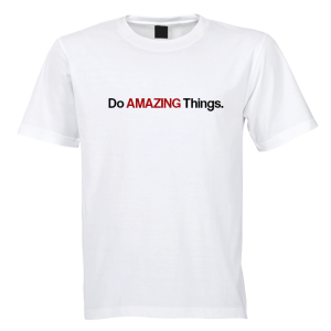T-shirt - Do AMAZING Things